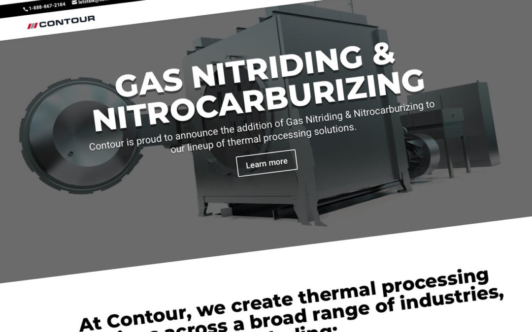 Contour Launches New Website Promoting New Gas Nitride Capabilities