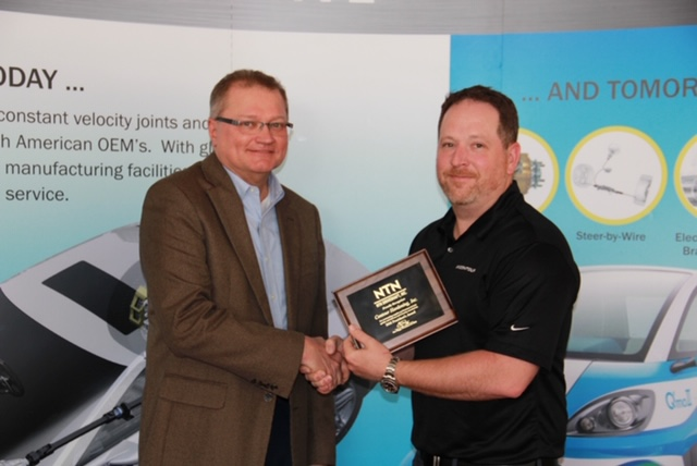 Contour Wins NTN President's Award for Second Year In-A-Row