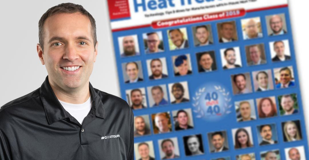 Contour's Senior Metallurgical Engineer, Kyle Hummel, Named to Heat Treat Today's 2019 Class of 40 Under 40